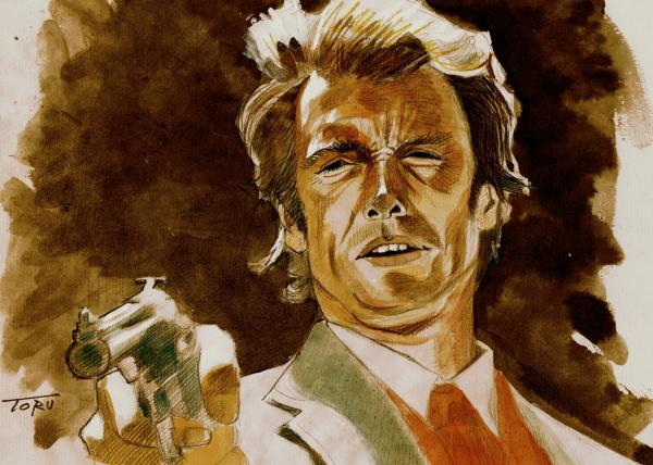Clint Eastwood by eiger3975